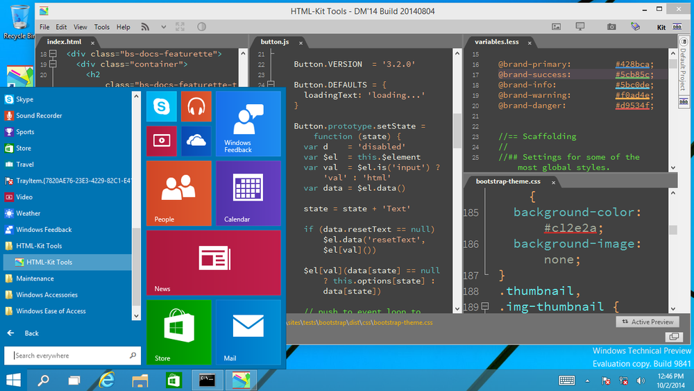 Html kit tools on windows 10 html kit blog ccuart Image collections